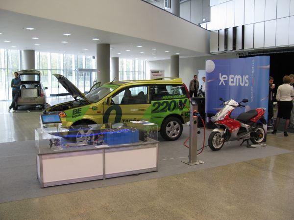 UAB Elektromotus ekspozicija Litexpo 2011