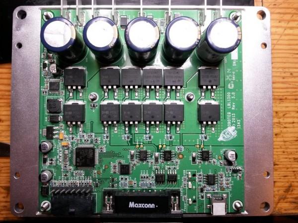 Roboteq MBL1660 PCB components